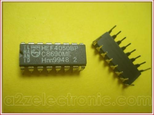 HEF4050BP, plastic dual in-line package 16pin - Dip IC Philips