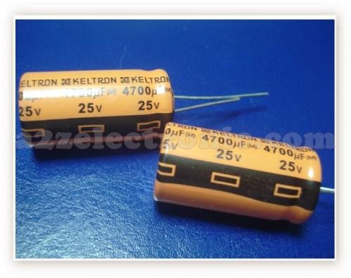 16x31mm 4700uf 25V